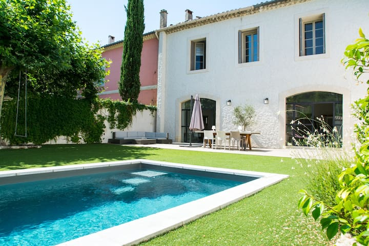 BEAUTIFUL VILLAGE HOUSE WITH POOL NEAR MONTPELLIER