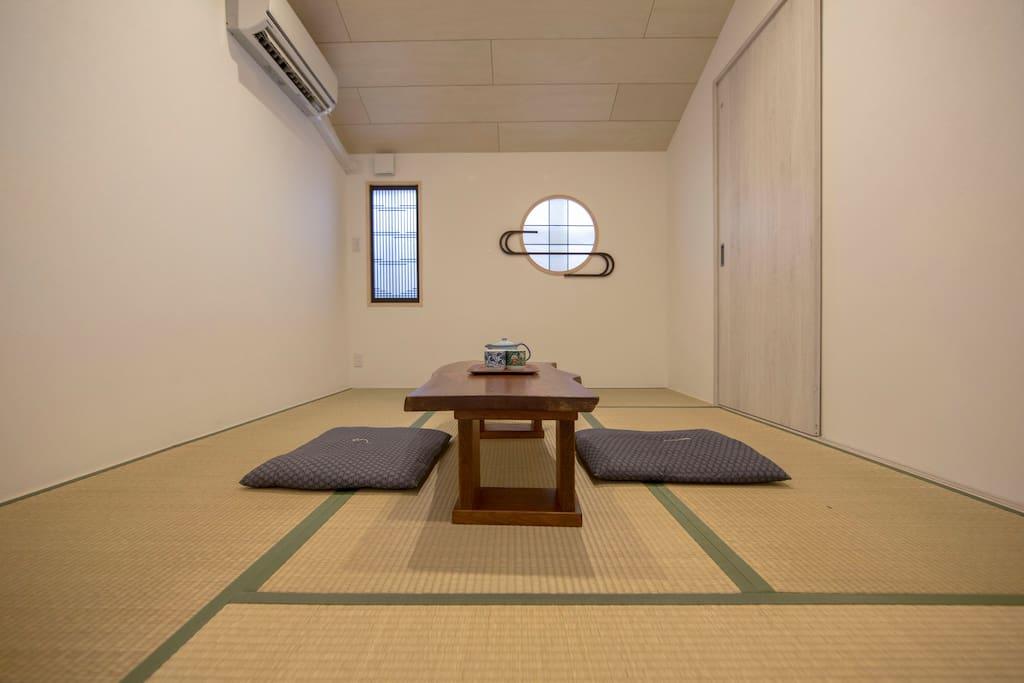 Japanase style, tatami room