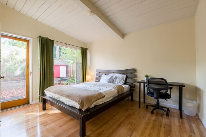 Ruth|Zen Rm 4|Private entrance/bath|Near Caltrain - Mountain View - House