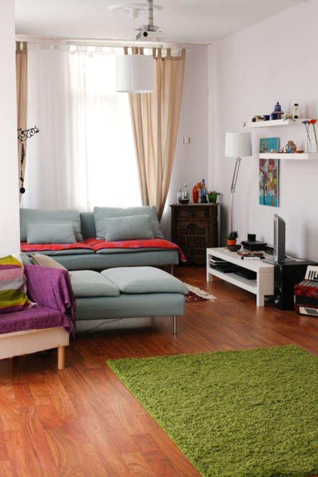 Cozy Flat in Bostanli