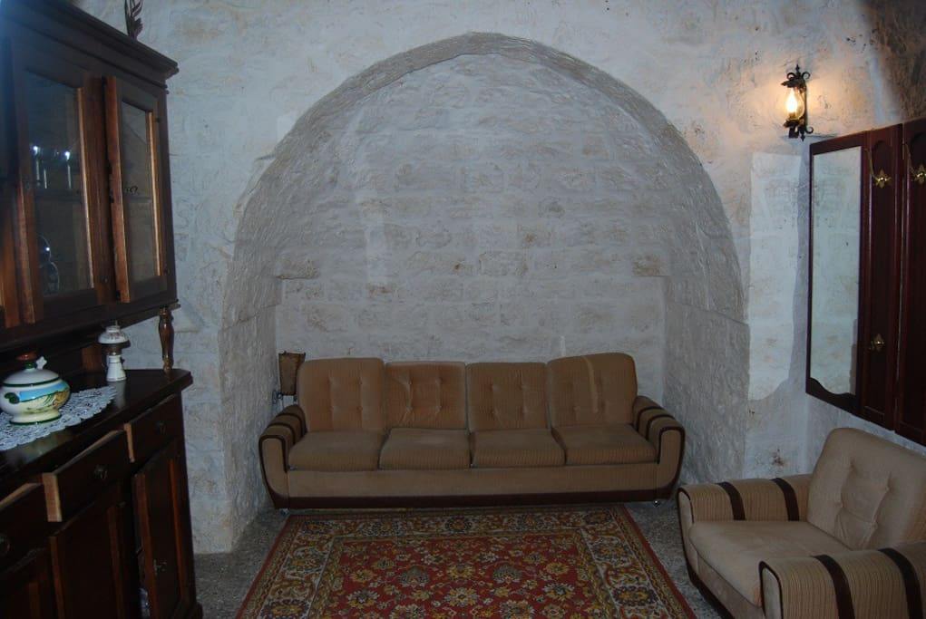Lounge area in the trullo