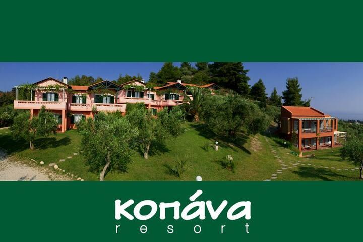 Kopana Resort studio & apartments - Pefkochori - Appartamento