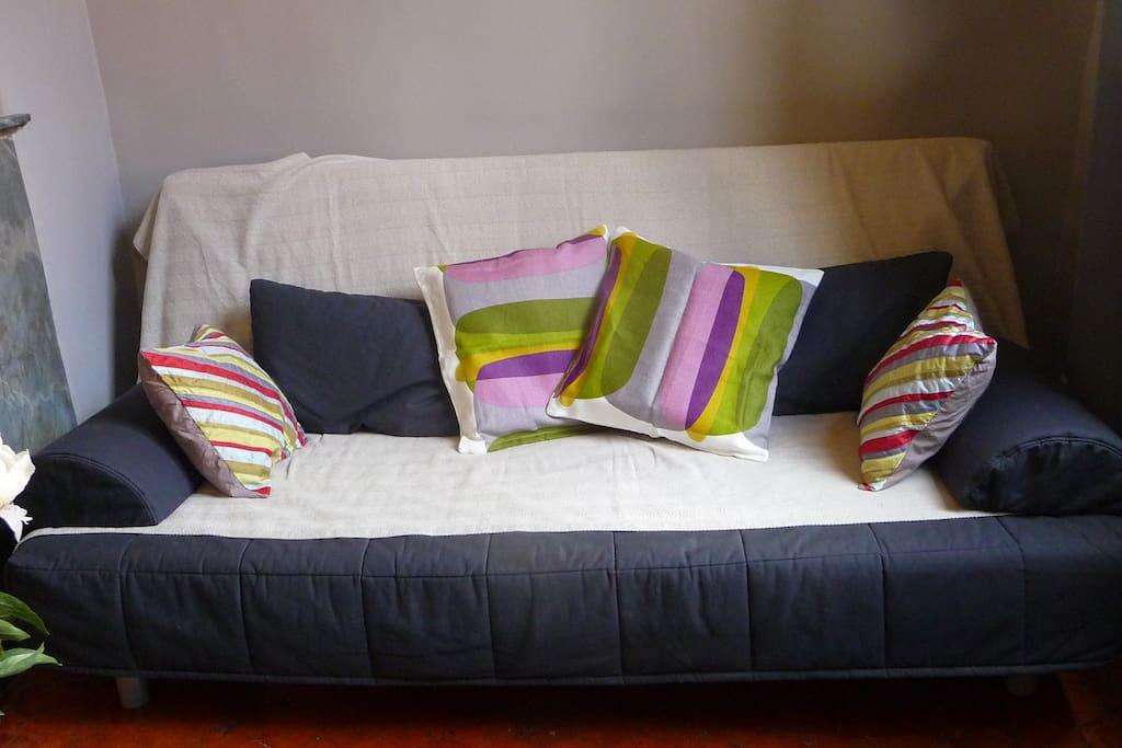 Canapé lit double / Double Sofa bed