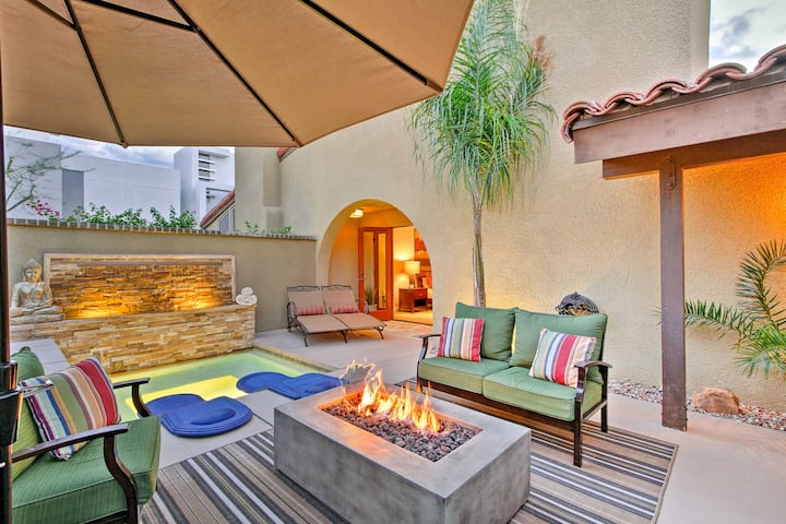 Private Palm Springs Condo w/Upscale Amenities!
