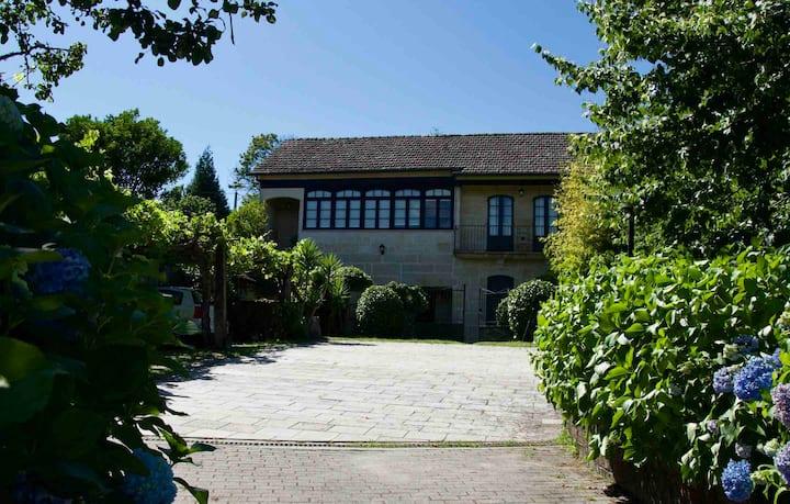Casa rural O Cuco del siglo XIX en Mondariz.