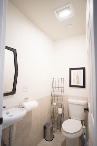 Hallway half-bathroom (1 of 2)