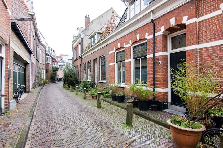 Modern apartment in the city center of Haarlem