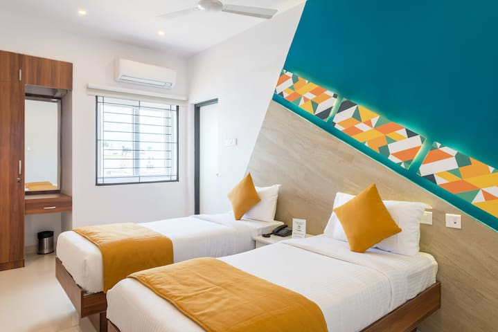 Cornerstay Serviced Apartments -Nava India - Coimbatore - Appartement