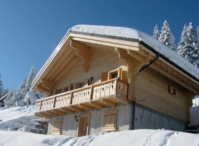Chalet le P'tit Sacripant - Val-d'Illiez - 牧人小屋