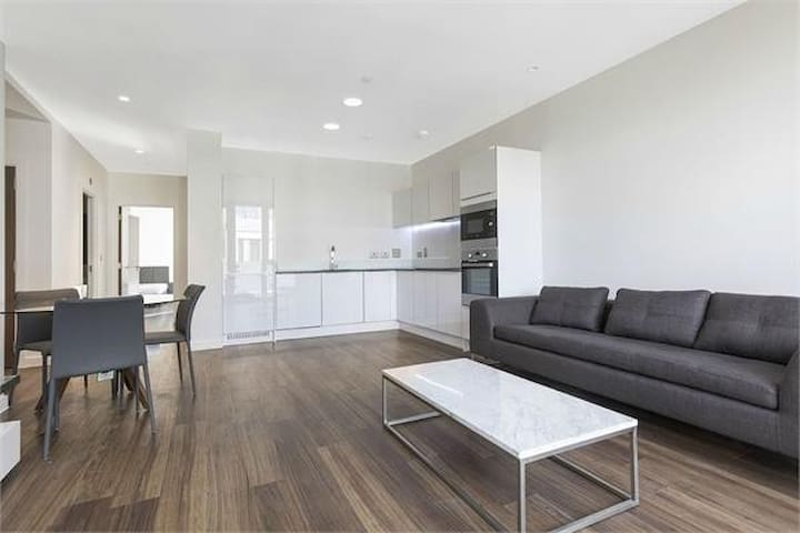 close to canary wharf and central london.