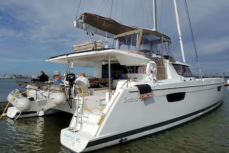 NEW 50ft catamaran! 5 beds, 5 baths - Annapolis - Vene