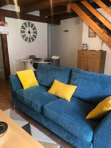 Appartement cosy dans un village de montagne