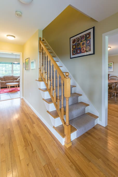 Upstairs to bedroom