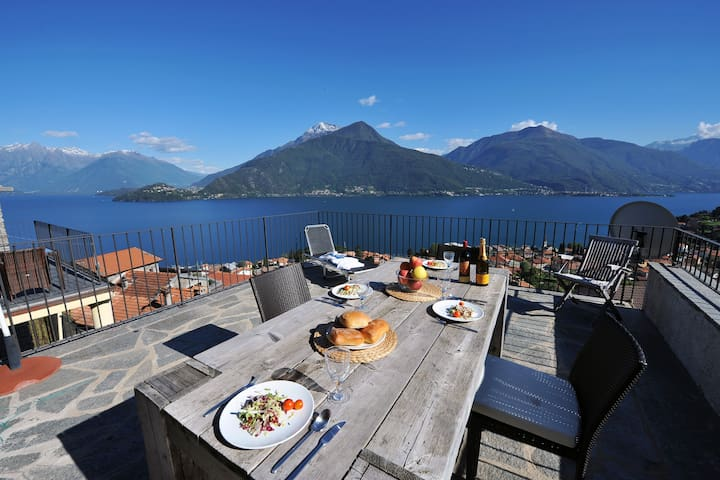 Vista D'Este  - Pianello del Lario - Apartment