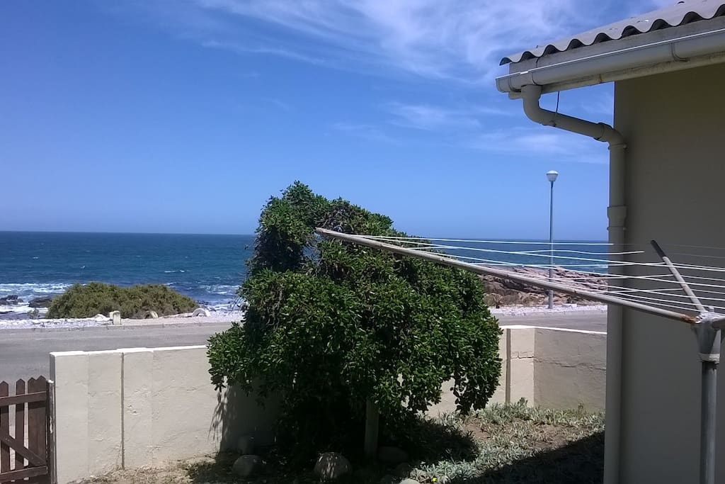 Back Entrance with Seaview