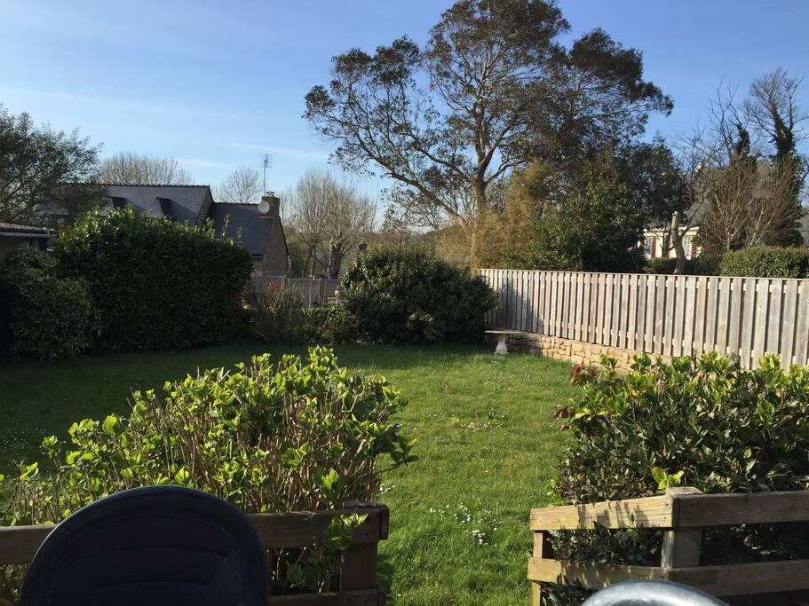 Jardin privé clos