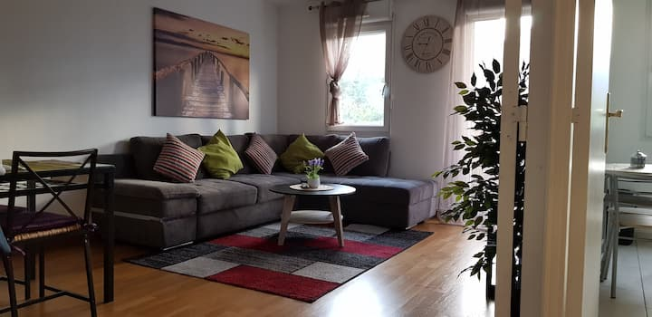 Nice 48 sqm apartment located 10 min from Paris