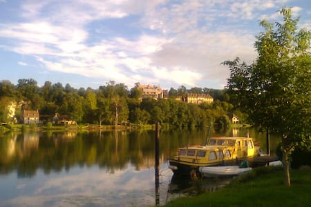 Vacances calmes en bord de Seine - Porte-Joie