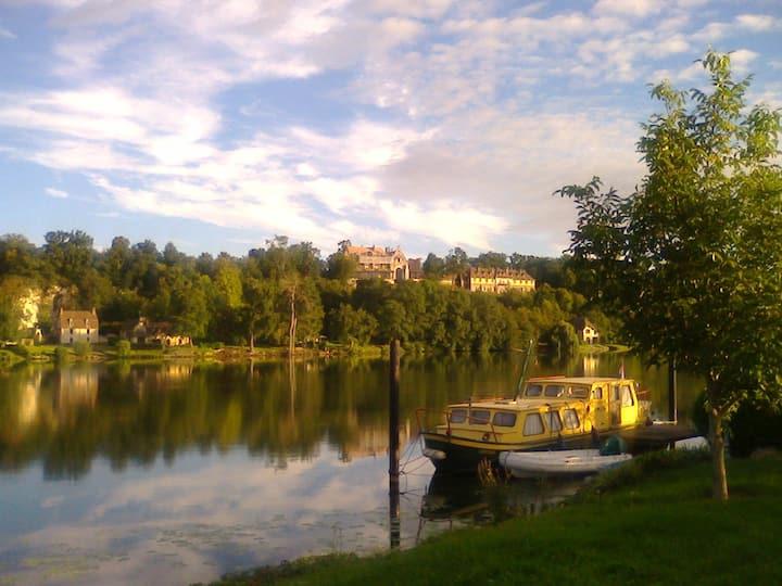 Vacances calmes en bord de Seine