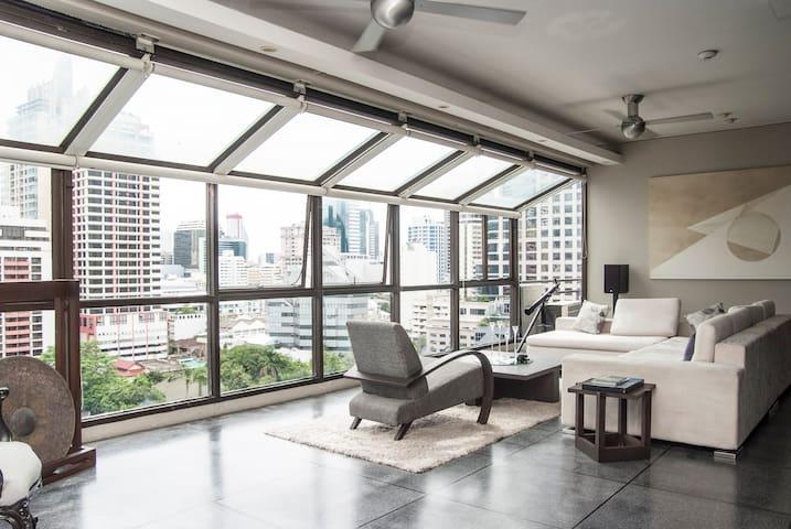 Amazing views over Sathorn and Silom! - Bangkok - Wohnung