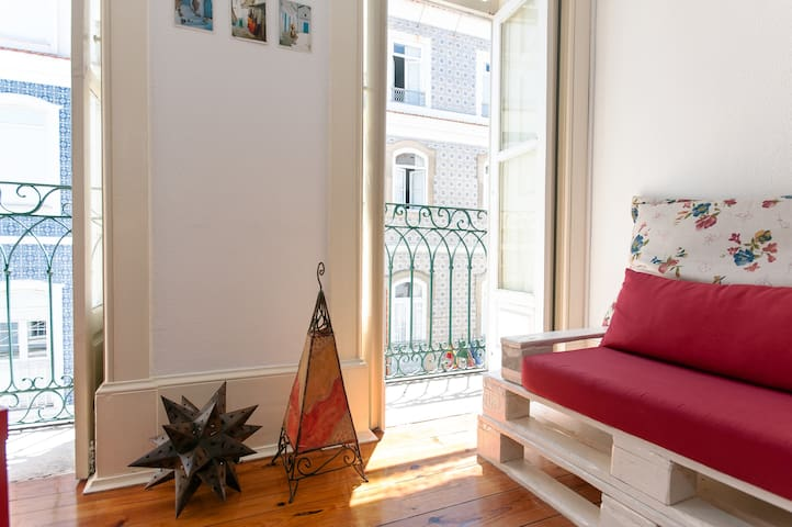 Holiday Apartment at Canal Central-Now with wi-fi! - Aveiro - Daire