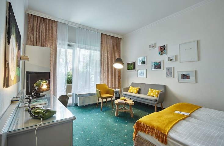 Retro Apartment im Boutique Hotel
