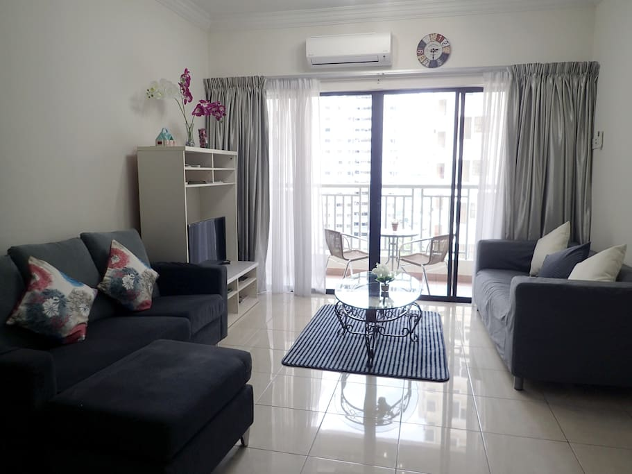 Welcome to our super comfy homestay at One Utama!