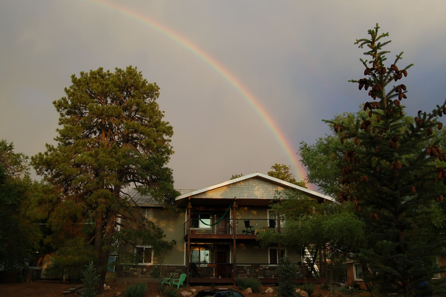 Rainbow after Monsoon at iHouse
