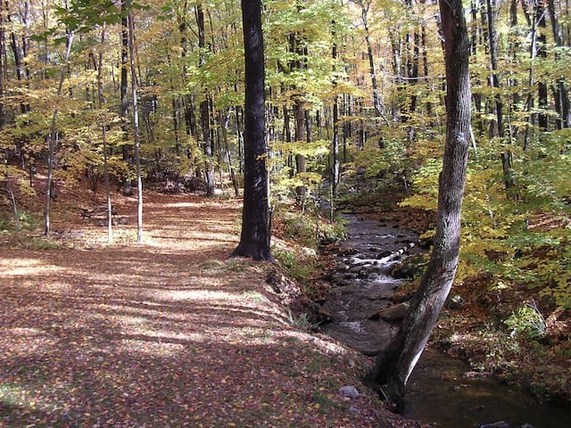 Streamside Apartment Near Amherst - Belchertown