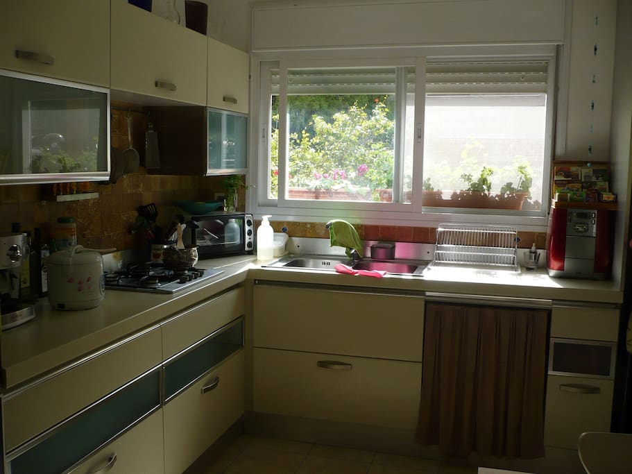 Kitchen - fully equipped with espresso machine, blender, juicer, etc
