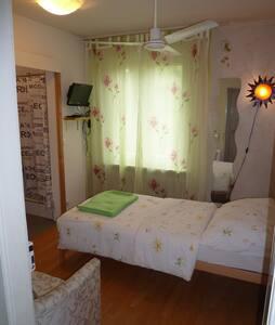 Kleines möbl. Zimmer mit eigenem Badezimmer - Zürich - Townhouse