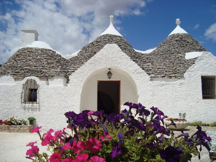 Trulli private in Valle d'Itria