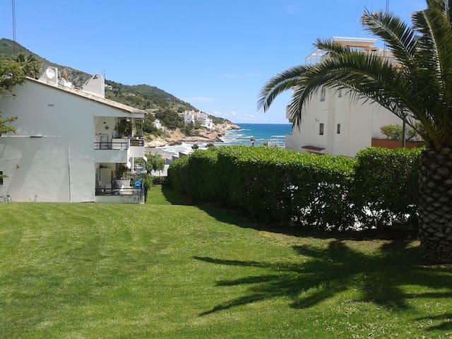 Apartamento frente al mar con wifi