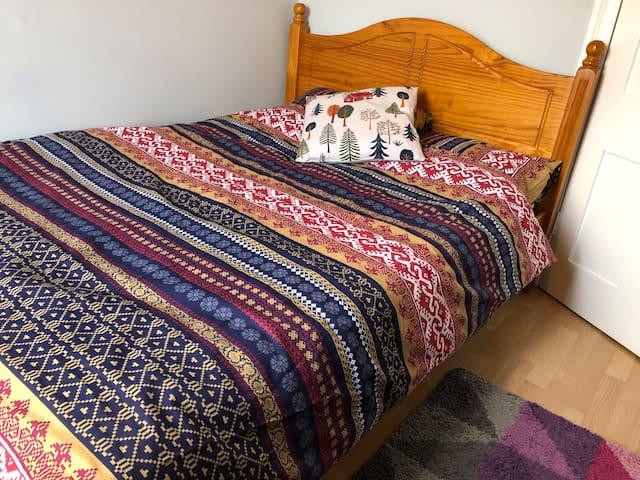 Cozy, comfy double room