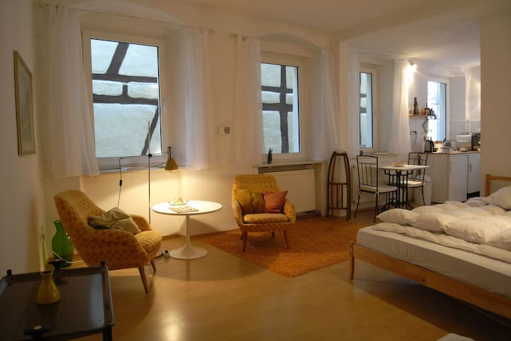 Stylish Apartment in Old Building - Bamberg - Apartament