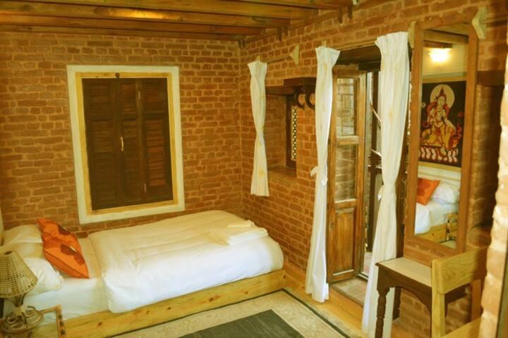 Terrific Single Bedroom With Balcony in 3rd Floor