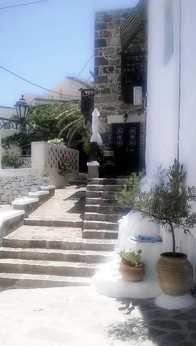facade and entrance