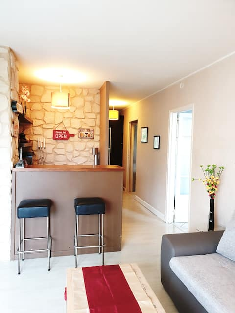 Spacious and quiet 25 min from Paris