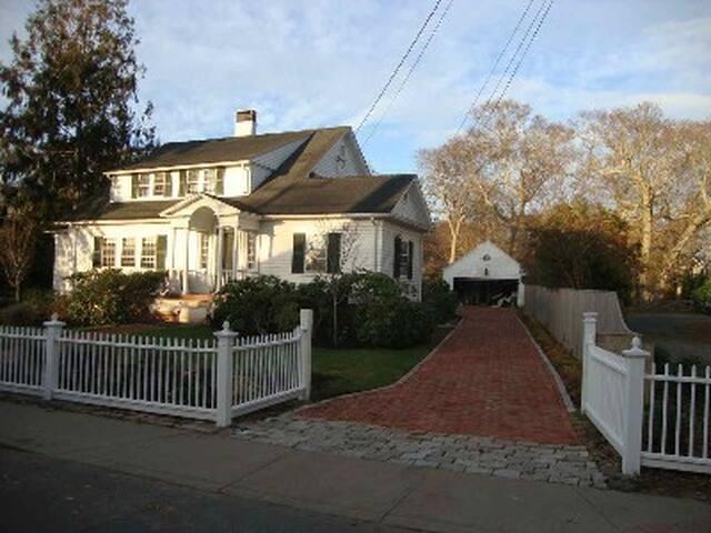 Historic Vineyard Home.  172 Maine Street, Vineyard Haven