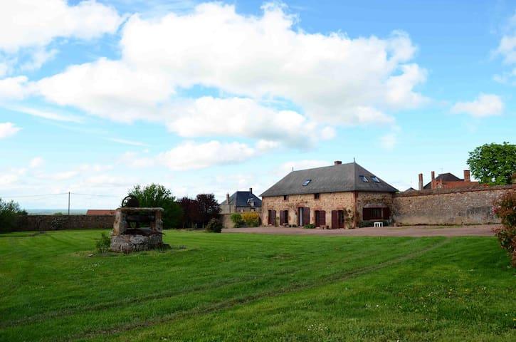 ancien corps de ferme restauré - Saint-Léon - Hus