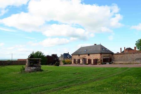 ancien corps de ferme restauré - Saint-Léon