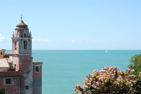 Tellaro studio with sea view garden - Tellaro