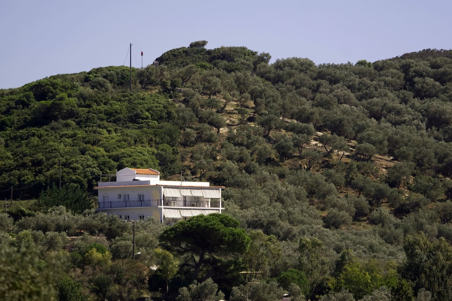 Villa Thea. See from the Port