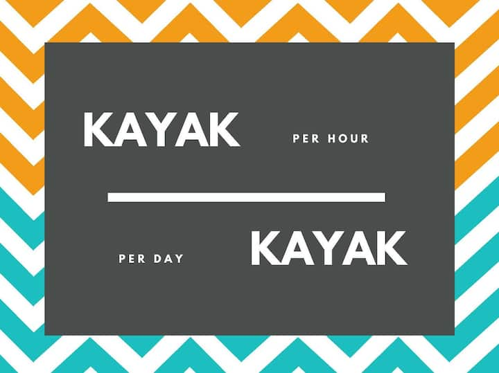 RENT KAYAKS @ HOTEL LACANDON IN FLORES