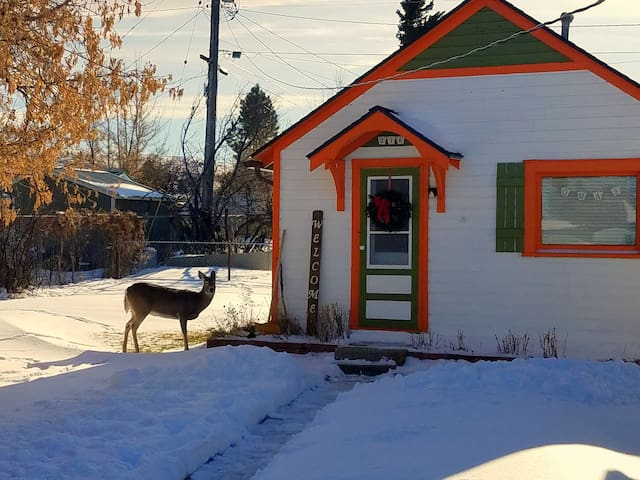 Oma's 1915 Cottage (Hot Tub & Sauna!) in Red Lodge