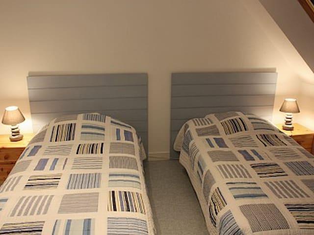chambre 2 gite langoustine
