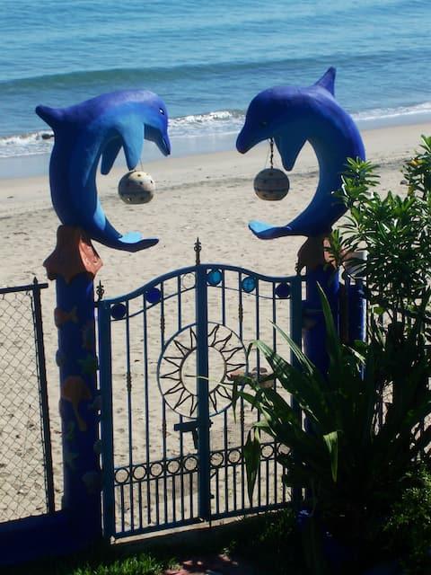 Beachfront 'La Playa Suite' with Private Patio