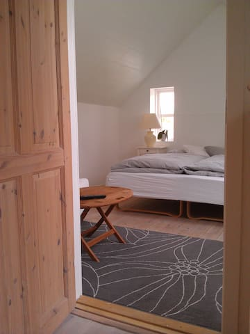 Loftet i Den gamle smedje - Mariager - Wikt i opierunek