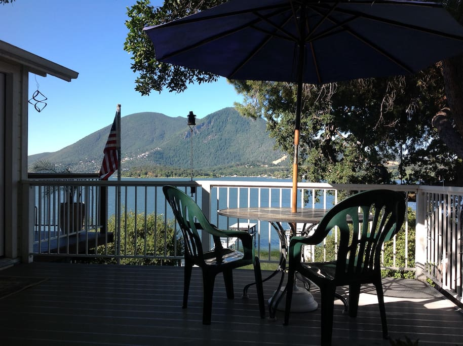View Mt. Konocti with your morning coffee!