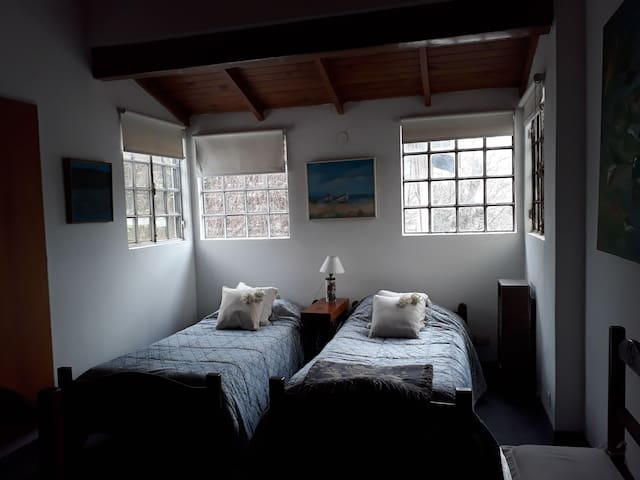 Cozy bedroom in a house in San Isidro
